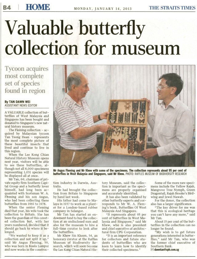 Tan_2013-01-14_Valuable butterfly collection for museum [ST] [OCR]